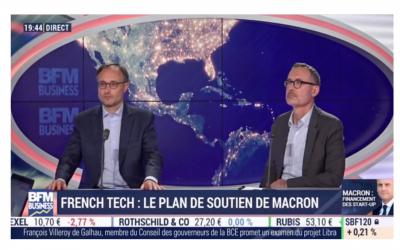 Intervention de Pierre-Emmanuel Struyven dans l'émission BFM Business French Tech