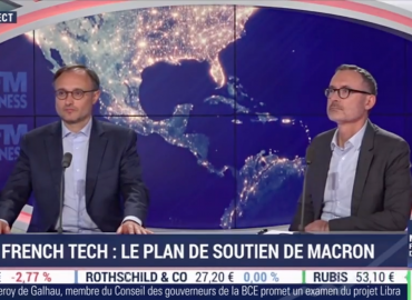"Intervention de Pierre-Emmanuel Struyven dans l'émission BFM Business ""French Tech: le plan de soutien d'Emmanuel Macron"""