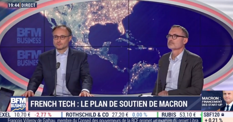 Intervention de Pierre-Emmanuel Struyven dans l'émission BFM Business « French Tech: le plan de soutien d'Emmanuel Macron »