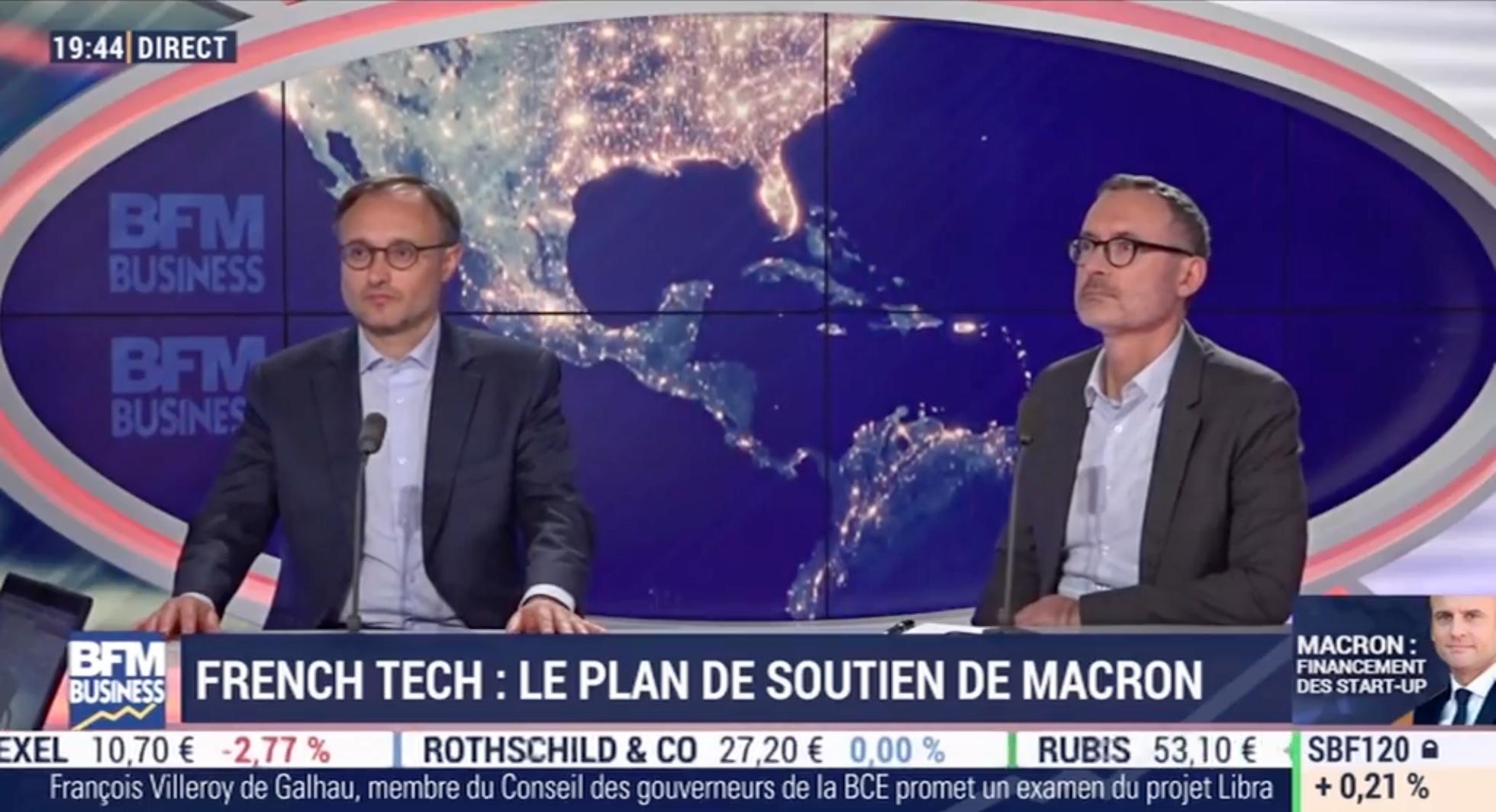 Intervention de Pierre-Emmanuel Struyven dans l'émission BFM Business «French Tech: le plan de soutien d'Emmanuel Macron»