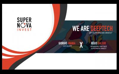 #WeAreDeeptech : ALEDIA X Supernova Invest Entretien croisé avec Georgio Anania